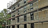 Fenstereinbau abgeschlossen