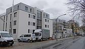 Gebäudeansicht von der Nürnberger Straße